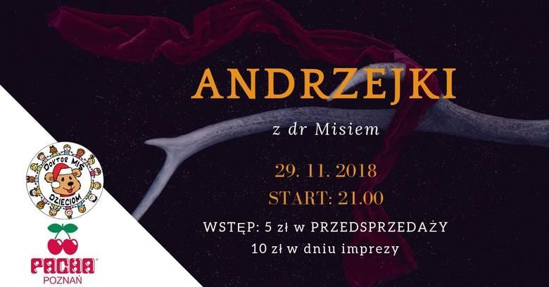 Pacha - ul. Paderewskiego 10Czwartek, 29 listopada, godz. 21Bilety: 5 i 10 zł Zobacz pozostałe oferty ------->
