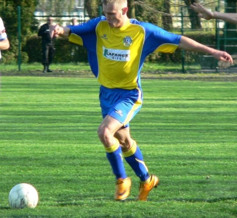 Sylwester Patejuk strzelił honorową bramkę dla Nidy w Piotrkowie Trybunalskim.