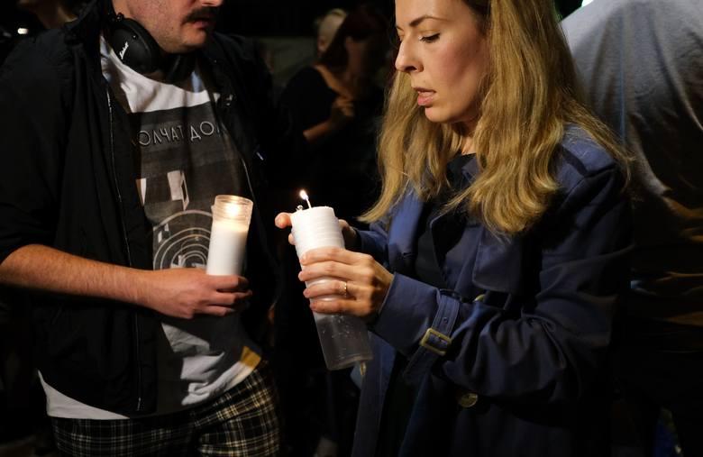 Warszawa, Bielany: Wypadek na Sokratesa. Protest przeciwko zabijaniu pieszych na drogach [ZDJĘCIA] [WIDEO]
