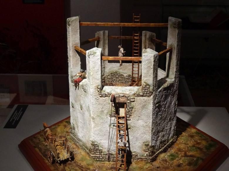 Rekonstrukcja szubienicy wykonana przez Damiana Wojtuckiego