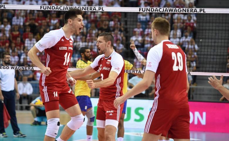 Polska przegrała z Brazylią 1:3.