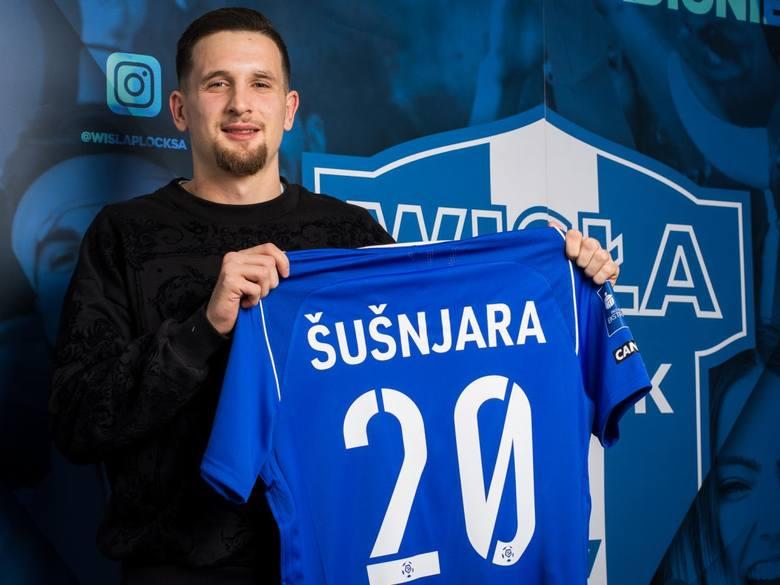 Bardzo ciekawa historia, bo zaledwie sprzed tygodnia. Susnjara wszedł z ławki w meczu Wisła Płock - Lech i wykorzystał podanie Patryka Tuszyńskiego.