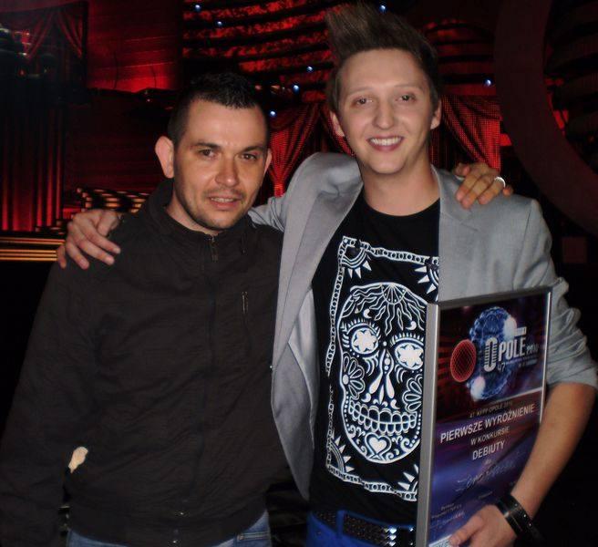 Z Kamilem Franczakiem, wokalistą zespołu Zero Procent.