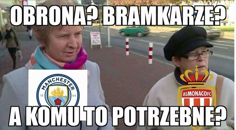 Heatmapa jak kula ognia. Manchester City - Monaco [MEMY]