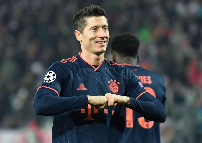 Robert Lewandowski wyczynia w tym sezonie rzeczy, które nie śniły się filozofom. Napastnik Bayernu zdobył w obecnej edycji Ligi Mistrzów już 11 bramek.