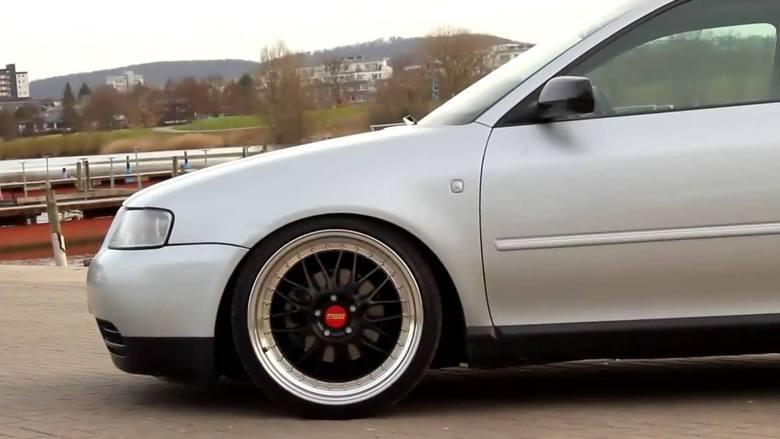 Miejsce 1. Audi A3 8L