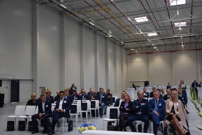 Otwarcie pierwszej hali centrum logistycznego Hillwood Częstochowa Zachód w Kłobucku