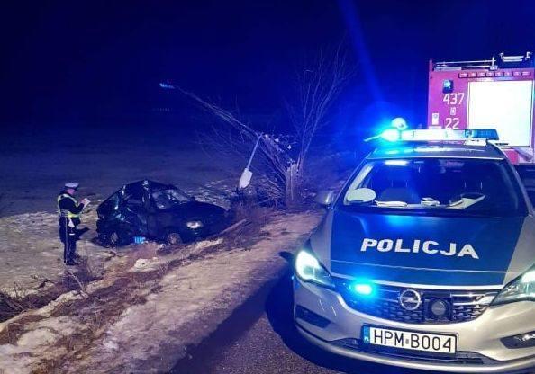 Do tragicznego wypadku w miejscowości Klejniki (pow. hajnowski) doszło w sobotę przed godziną 16.