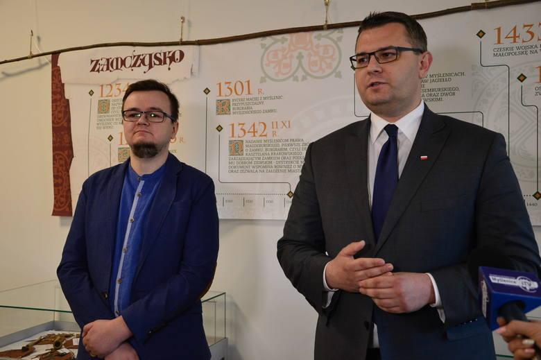 Dr Łukasz Malinowski (z lewej) i Jarosław Szlachetka