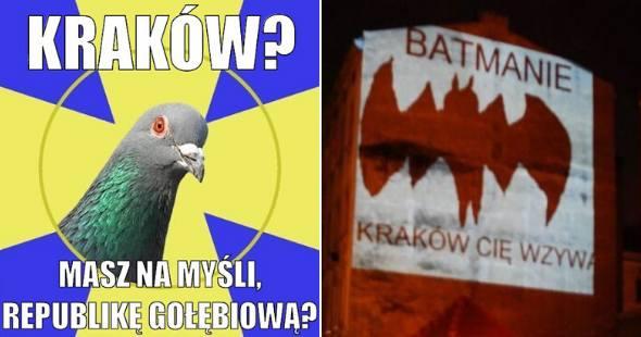 Kraków to nie miasto. Kraków to stan umysłu! Zobacz najlepsze MEMY 26.03.