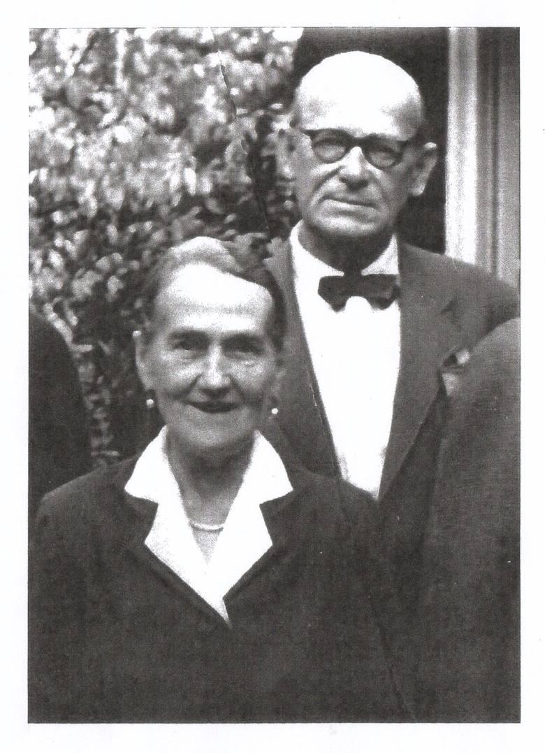 Jan Henryk von Studnitz z żoną Norą Brand.