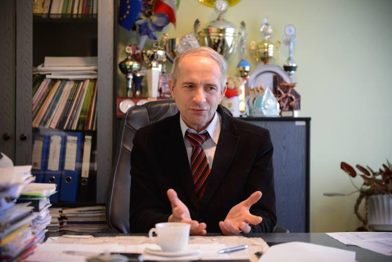 Mieczysław Misiaszek, wójt gminy Kijewo Królewskie, uważa, że problem absolutnie nie dotyczył gminnej szkoły.