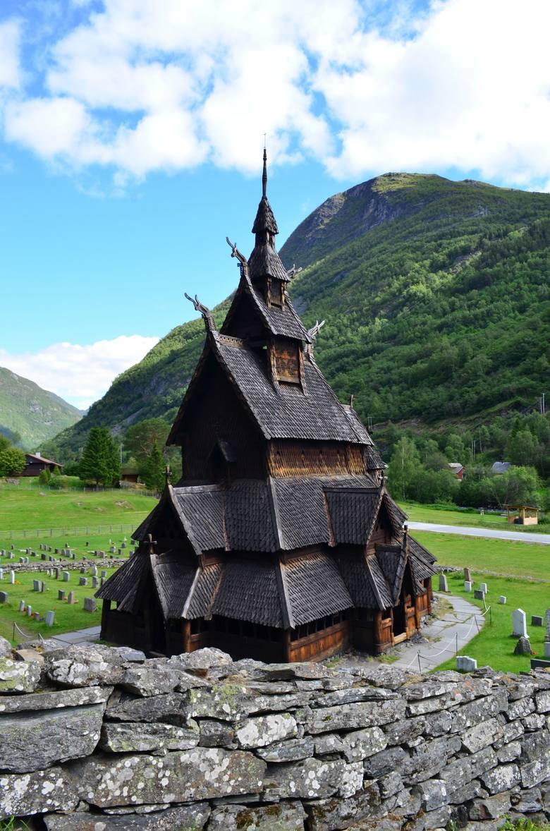 Stavkirke w Borgund