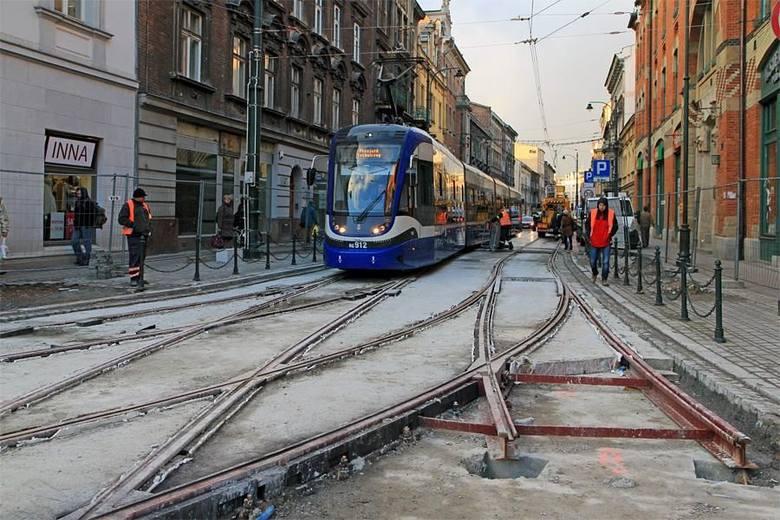 Kraków. Już w sobotę tramwaje wrócą na ulicę Długą