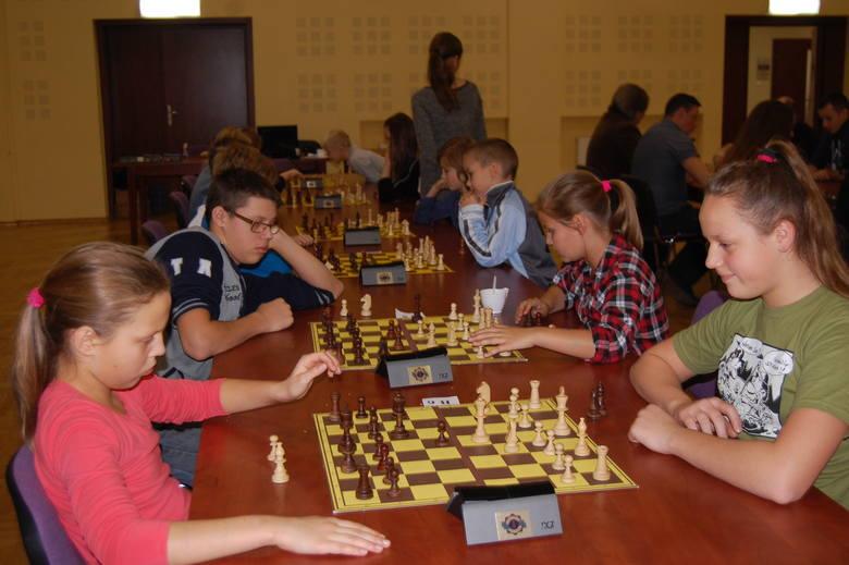 Imprezy szachowe w Sadkach, powiatowej rangi, odbywają się od lat