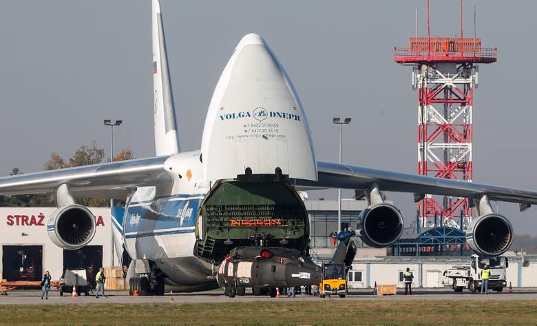 Na lotnisku w Jasionce wylądował dziś po godz. 15 jeden z największych samolotów transportowych świata. Rusłan czyli An - 124 ma 20,8 m wysokości. Sięga