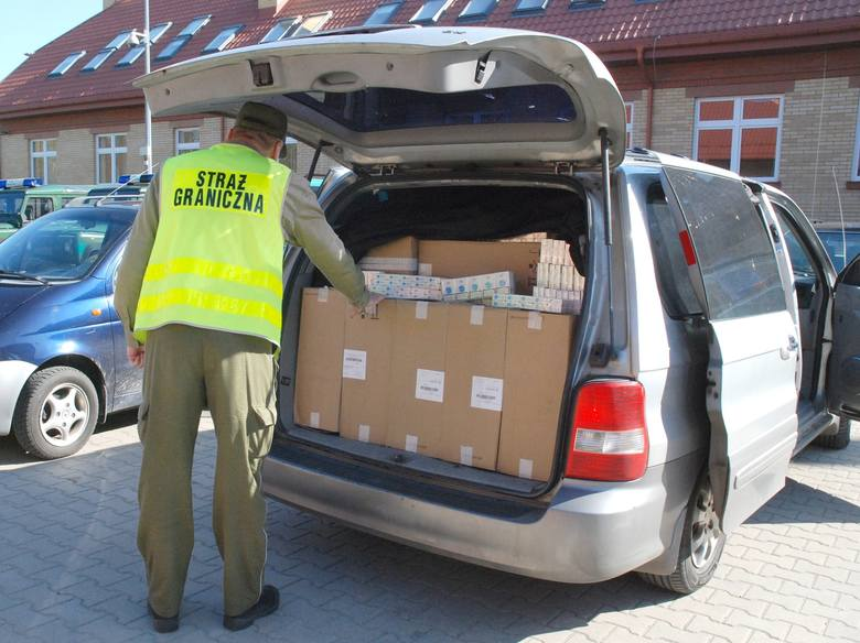 Kontrabanda o łącznej wartości 270 tys. zł udaremniona.
