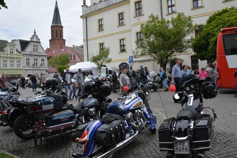 Akcja Motokrew zorganizowana przez klub Nine Six MC oraz Sulechowski Dom Kultury