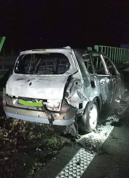 Wypadek i pożar na A4. Potężne korki na autostradzie