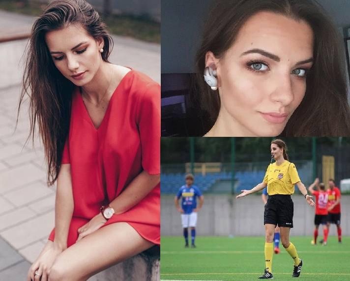 Choć Karolina Bojar sędziuje zmagania piłkarskie w niższych klasach rozgrywkowych, to popularnością z pewnością przebija większość arbitrów prowadzących
