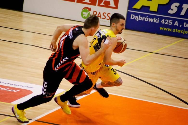 Dawid Zaguła rozgrywał pierwszy sezon w pierwszej lidze. Niestety, wiadomo już, że go nie dokończy