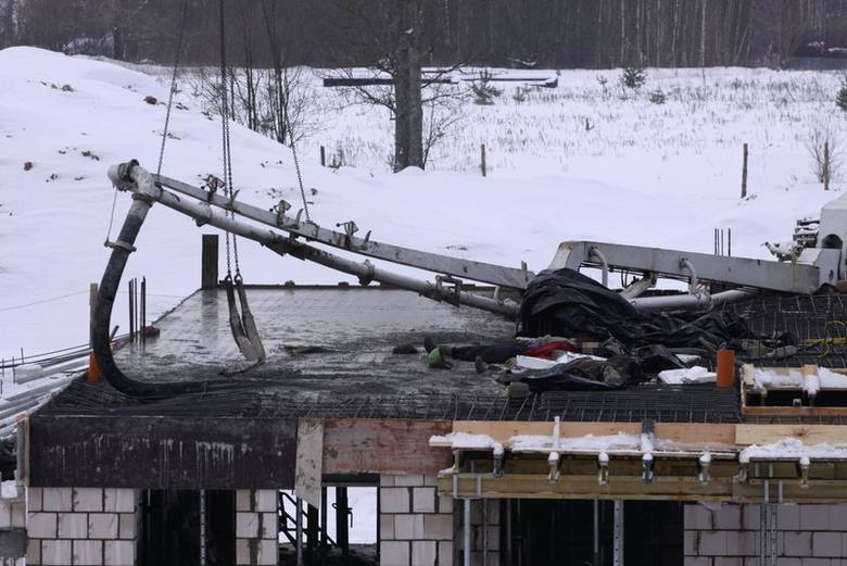 Ignatki: wypadek na budowie