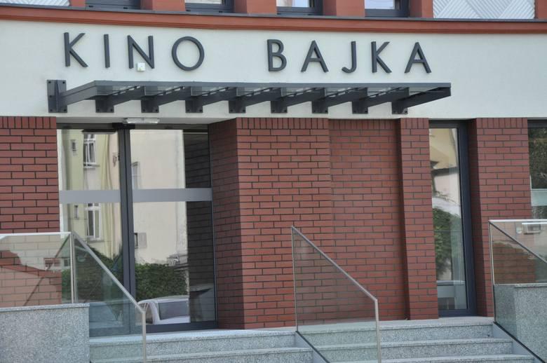 Gruntownie wyremontowane kino Bajka w Kluczborku otwarto w październiku 2016 r.