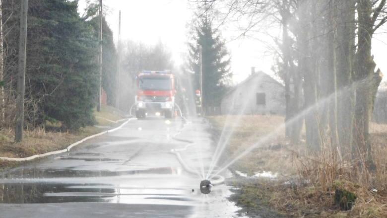 Ulatniający się gaz w Wolbromiu