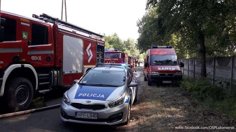 Strażacy wezwani zostali do pożaru domu w Stanisławowie Starym. WIĘCEJ ZDJĘĆ I INFORMACJI KLIKNIJ DALEJ