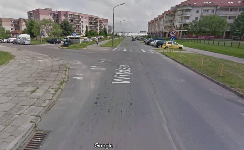 Wzdłuż ul. Witosa mogłoby powstać 70 miejsc parkingowych.