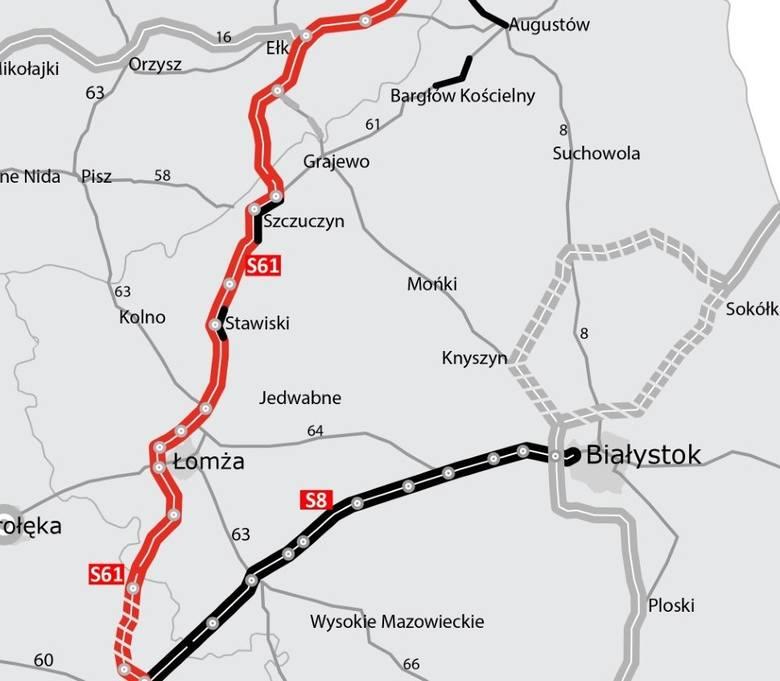 S61. Ponowny przetarg na strategiczny odcinek S61 Suwałki – granica państwa