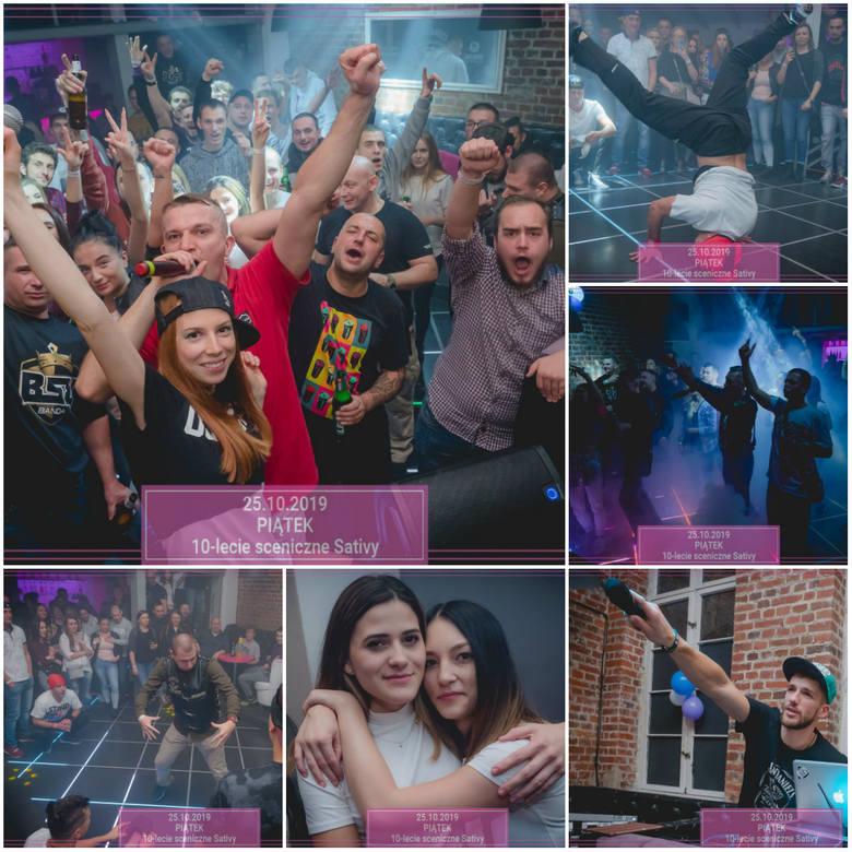 Kilka dni temu w klubie Infinity w Bydgoszczy odbył się koncert zespołu Sativa. Grupa świętowało swoje 10-lecie na scenie muzycznej. Zobaczcie zdjęcia