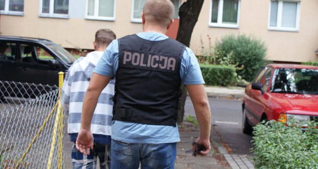Piotr Ż. zatrzymany w parku z narkotykami