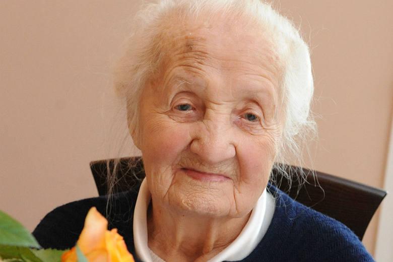 Aleksandra Dranka z Harklowej koło Jasła po ukończeniu 110 lat dołączyła do grona tzw. superstulatków.
