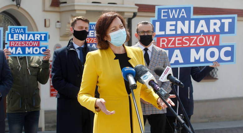 Prezydenci miast wsparli w kampanię Ewy Leniart na prezydenta miasta Rzeszowa.