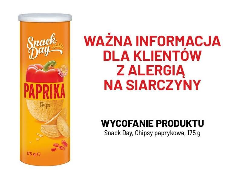 Tych chipsów nie jedz! Chipsy paprykowe z Lidla wycofane ze sprzedaży w całej Polsce