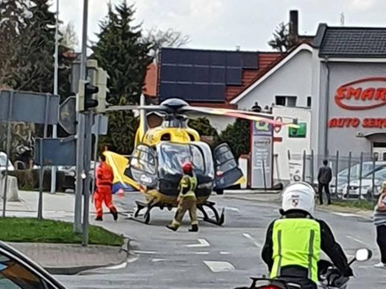Śmiertelny wypadek w Świebodzinie. Kobieta została potrącona przez samochód ciężarowy