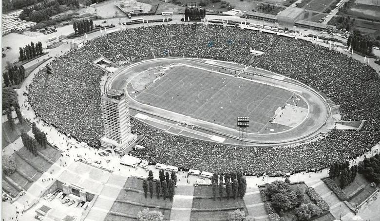 Stadion Śląski 1981-1990
