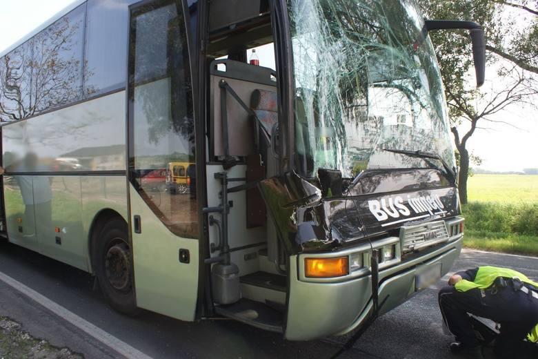 Było groźnie. Na szczęście nikt nie ucierpiał. Do zdarzenia doszło dziś w miejscowości Borek (pow. lipnowski). Sprawca kolizji, 50-letni kierowca autobusu