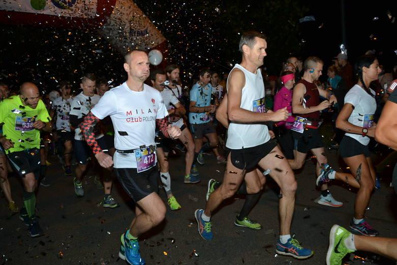 Rybnicki Półmaraton Księżycowy: ponad 1200 osób na starcie biegu