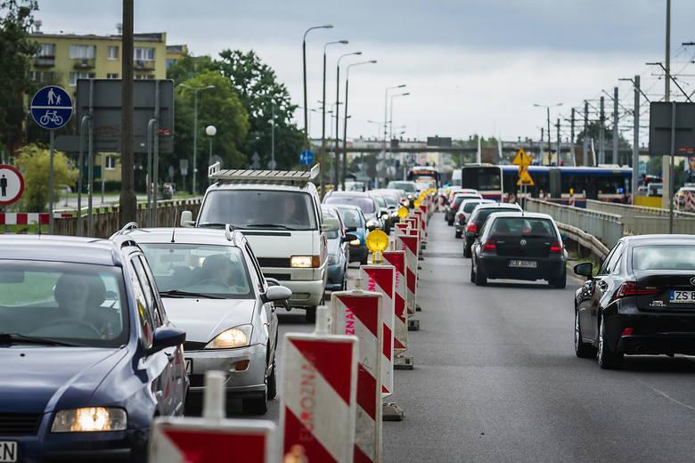 Uwaga kierowcy! Od dzisiaj utrudnienia w ruchu na ulicy Wojska Polskiego w Bydgoszczy