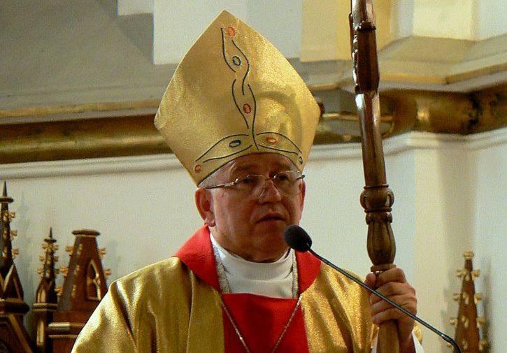 + Jerzy Mazur SVD Biskup Ełcki