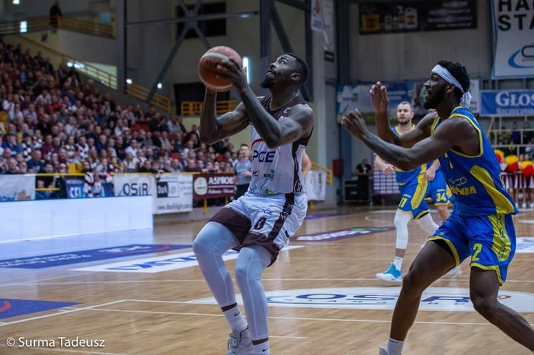 Justin Tuoyo rozegrał w stargardzkim zespole pięć spotkań w ekstraklasie koszykarzy
