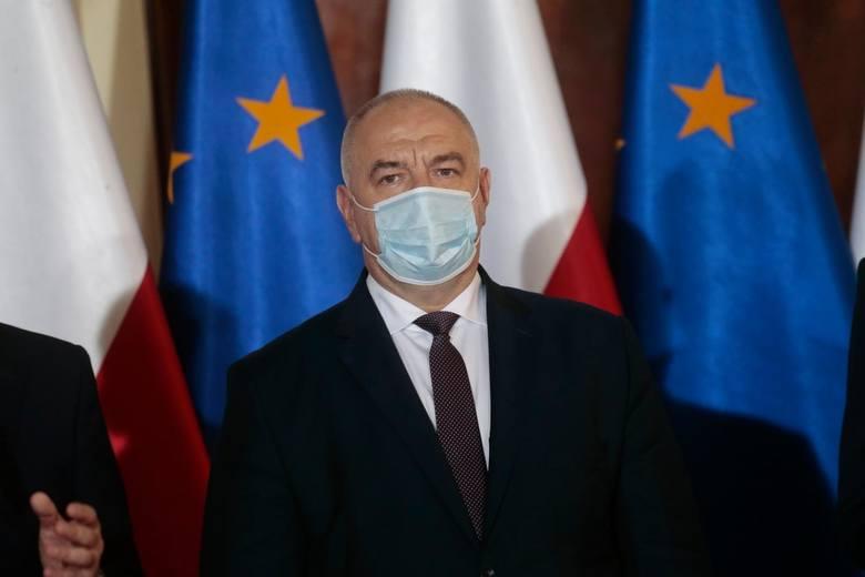 Wicepremier Jacek Sasin trafił do szpitala. Powodem jest zakażenie koronawirusem