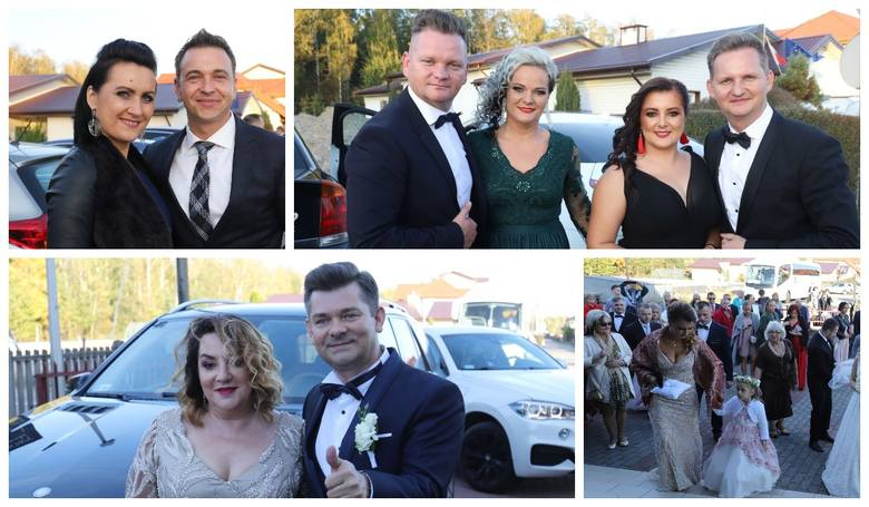 Ślub Daniela Martyniuka i Eweliny Golczyńskiej za nami. Uroczysta ceremonia, tłumy gości i huczne wesele. Oprócz rodziny, znajomych na ślubie pojawili