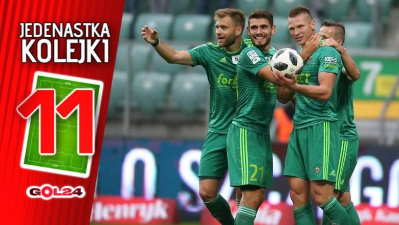 Śląsk pozamiatał w Białymstoku. Jedenastka 10. kolejki Lotto Ekstraklasy według GOL24 [GALERIA]