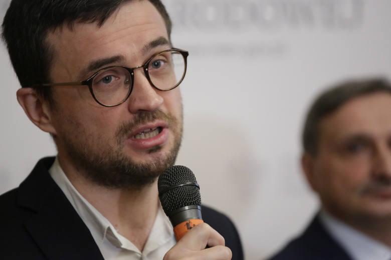 Marcin Smolik, dyrektor Centralnej Komisji Egzaminacyjnej, który złożył  na policję doniesienie o podejrzeniu popełnienia przestępstwa