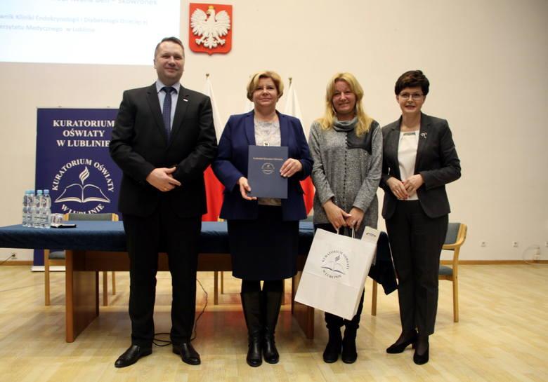 Wręczenie Wojewódzkich Certyfikatów Przedszkole Promujące Zdrowie oraz Szkoła Promująca Zdrowie