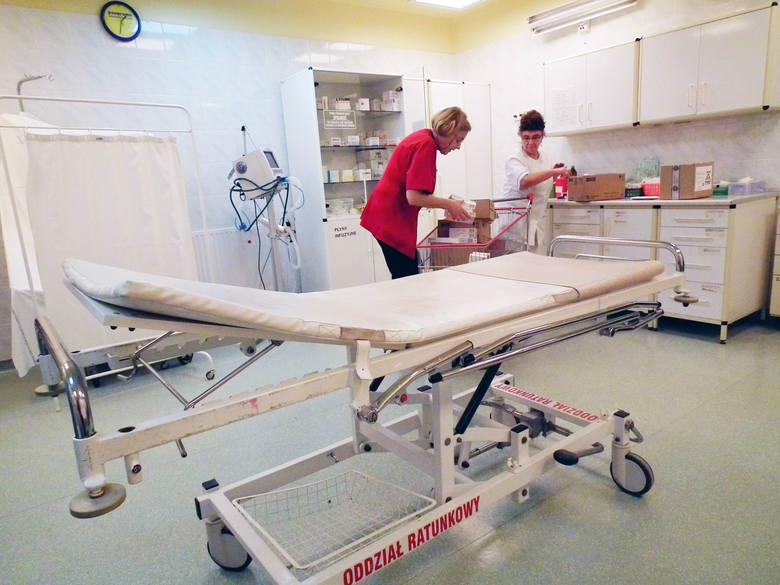 Szpital Wojewódzki w Poznaniu zlikwidował łącznie 98 łóżek.