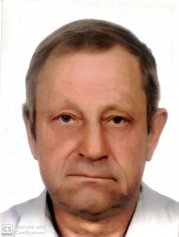 Zaginiony Antoni Barcik.
